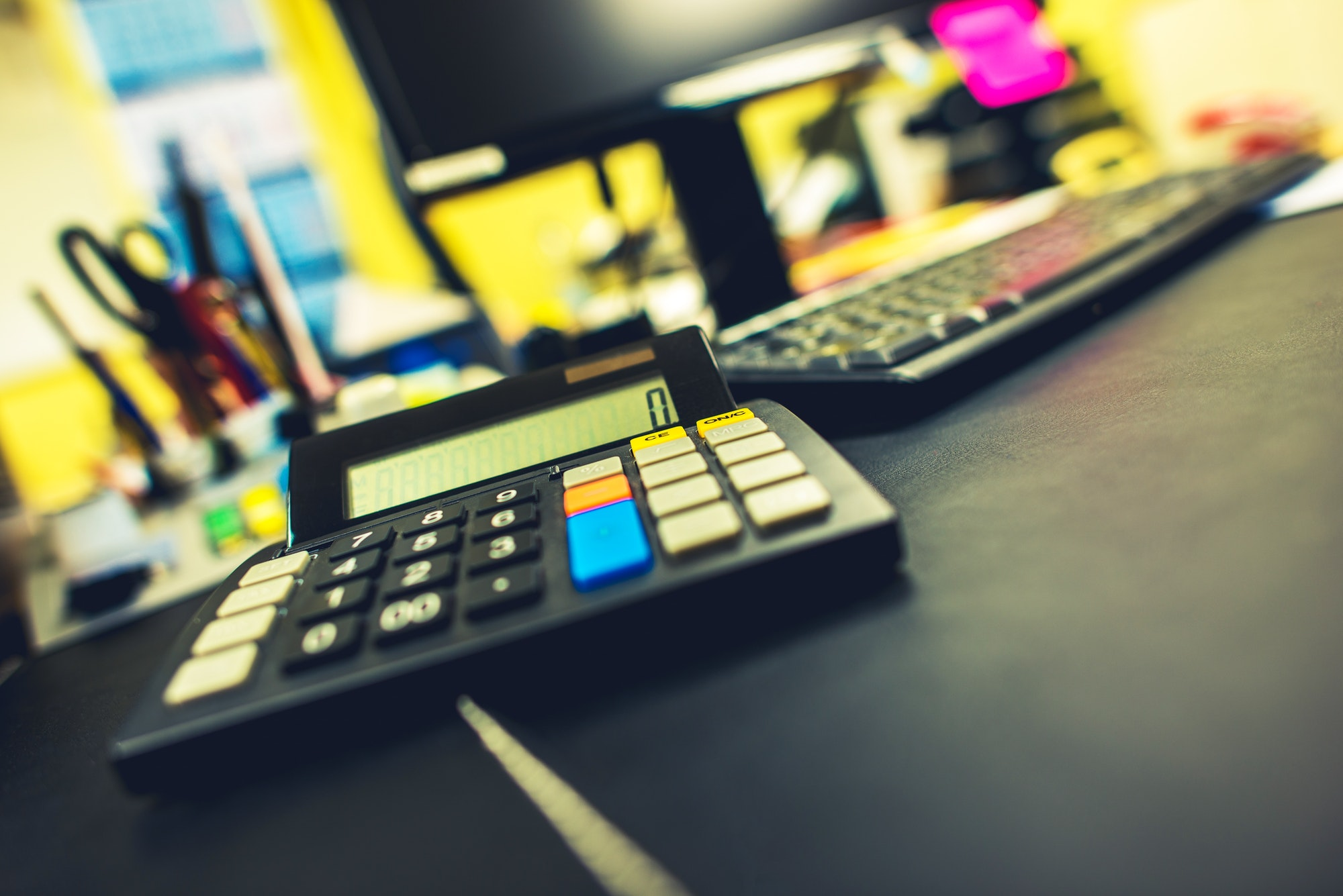 Office and Accounting Concept